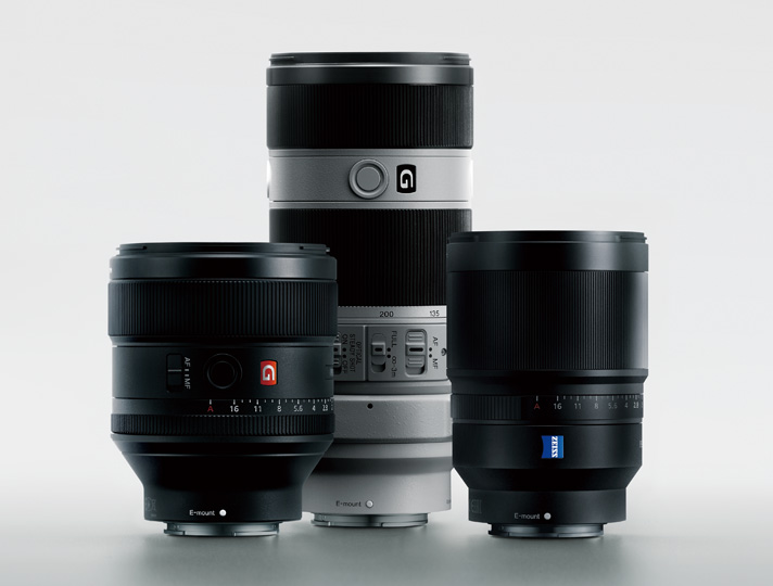 SONYのEマウント用レンズ